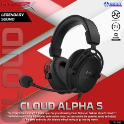 HyperX Cloud Alpha S Gaming...