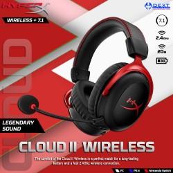 HyperX Cloud II Wireless...