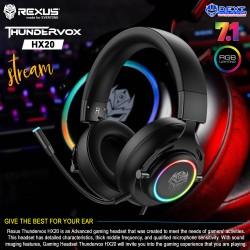 Rexus Thundervox HX20 RGB...