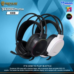 Rexus Thundervox HX9 Gaming...