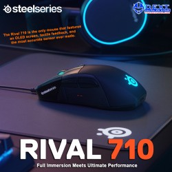 SteelSeries Rival 710...
