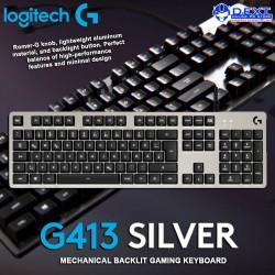 Logitech G413 Silver...
