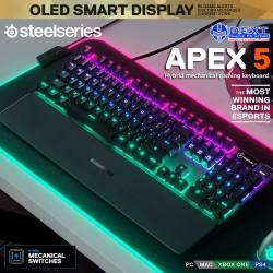 SteelSeries Apex 5 Hybrid...